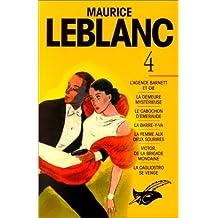 MAURICE LEBLANC INTÉGRALE T04
