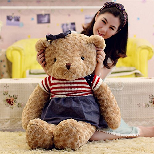 YXCSELL Lovable Brown Cute Soft Stuffed Plush Animals Giant Teddy Bear for Girlfriend Women Moms Mothers Females