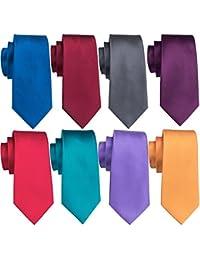 Men's Tie Set Silk Wedding Neckties Jacquard Woven Fashion Formal Business