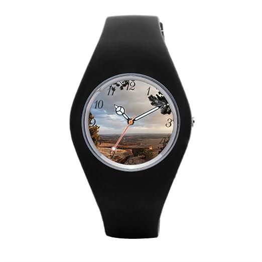Barato Deportes Relojes Aline montaña para hombre muñeca relojes: Amazon.es: Relojes