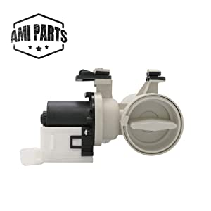 Replacement Washer Drain Pump Assembly W10130913 (ORIGINAL VERSION) By AMI Parts Compatible with Whirlpool,Kenmore Washing Machine W10730972, 8540024