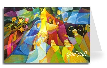 Merry Christmas Greeting Card - Nativity 3 (20 Cards) ()