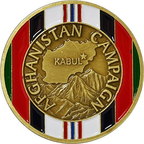- Afghanistan Campaign Service Medal Challenge Coin