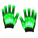 TOPTOY Gifts for Teen Boys, Flashing LED Gloves Toys for 3-12 Year Old Gifts for Teen Girls Light TTUSTTG08