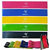 The HappyLife Resistance Loop Bands are the best and most AFFORDABLE way to get fit, strong and healthy!!!Achieve your fitness goals FASTER with our bands!●HappyLife Resistance Bands are a great alternative to free weights or any workout machine.●The...