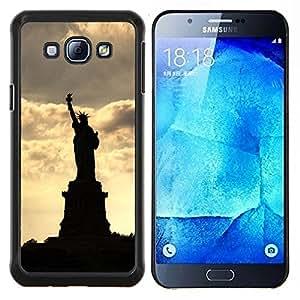 Stuss Case / Funda Carcasa protectora - La estatua de la libertad - Samsung Galaxy A8 A8000
