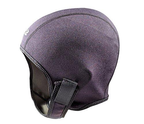 Tilos 1mm Metal-Light Coated Neoprene Adjustable Beanie for Surf Surfing Kayak Rafting Canoe Snorkel Swimming Cap Hat (Black, M)