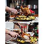 pannoramic 2xGloves Ove BBQ Silicone Heat Resistant Cooking Set Kitchen Mitts Pot Holder Including 1xBrush Basting Silicone Baking Grilling Oil Pastry Bakeware Tool 16 MAXIMUM PROTECTION AND TOP QUALITY SET. Our Ove Glove Non Slip Five Finger Exclusive Flame Design Heat Resistant 100% Waterproof, Easy To Rinse On A Dishwasher Safe Or Throw In The Sink, FDA Approved SUPER SET- ONLY THE BEST FOR YOU- Quality and the satisfaction of our customers is the most important for us. Make cooking and grilling more exciting, effortless and safer with this 3 Great Tools. This SUPEIOR VALUE SET ARE FUNCTIONALLY MATCHED AND VERY REASONABLY PRICED WITH 100% MONEY BACK SATISFACTION GUARANTEE. INCLUDING PREMIUM RESISTANT BASTING SILICONE BRUSH Ideal In The Kitchen When Cooking And Baking Pastry, Grill BBQ, Deserts, Marinades On Meat Spread Glazes, Sauces. Ergonomic Comfort Grip Handel, Heat Resistant. Perfect For Spreading Butter, Oil, Egg, Honey, Glazes Vegetables And Pastries. Designed to Mop up and Hold Generous Amounts of Liquid (BBQ Sauce, Butter Glaze) more Efficiently than your Average Basting Brushes. IS MORE LIKE THE QUIET MEMBER OF THIS SET BUT IT'S EFFICIENT, CONVENIENT, AN