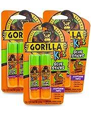 Gorilla Kids Disappearing Purple Glue Sticks