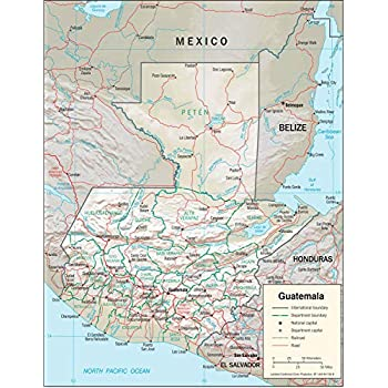 Amazon com: Map Poster - Middle East Physical Map 20