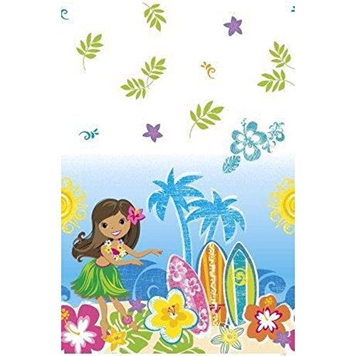Hula Beach Party Plastic Table Cover (Each) by Unique Industries