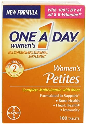 One-A-Day Multivitamin Supplement Women`s Petites Tablets 160 Ct (pack of 2) (One A Day Bayer)