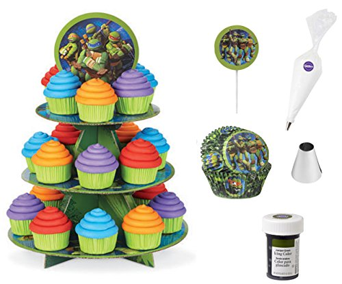 TMNT Cupcake Bundle of 6 Products ()