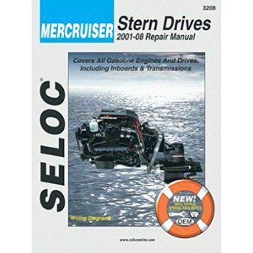 Seloc Service Manual - Mercruiser Stern Drive - 2001-08