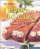1 Batter, 50 Cakes, Gina Greifenstein, 1930603428