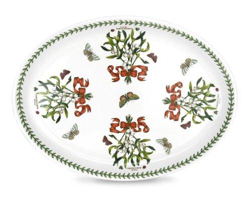 (Portmeirion Botanic Garden Mistletoe Turkey Platter )