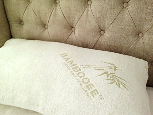 Bambooee Set of 2 Queen Premier Plush Series Pillows Home Comfort ()