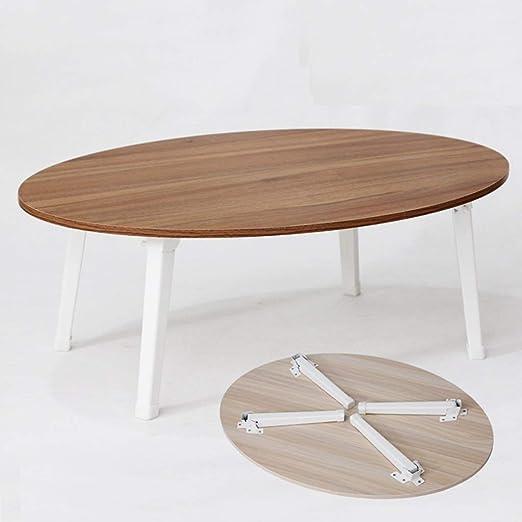 XZgang-table Mesa de Comedor pequeña, fácil de Transportar, Mesa ...
