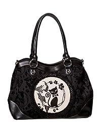 Banned Call Of The Phoenix Alternative Gothic Handbag - Black - Black / One Size