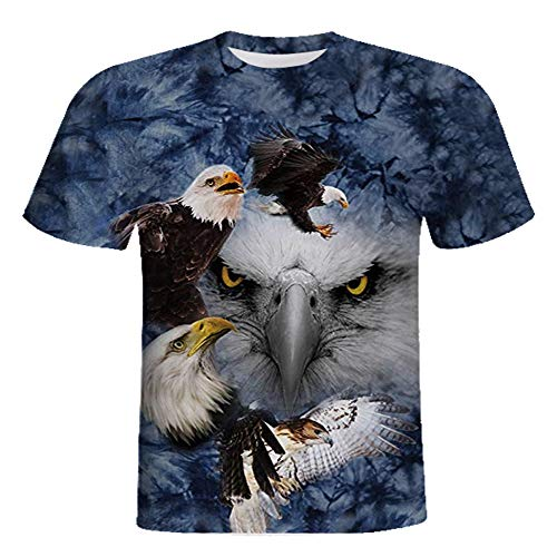 - RXBC2011 Men's American Eagle Shirt USA Tee XXL Blue