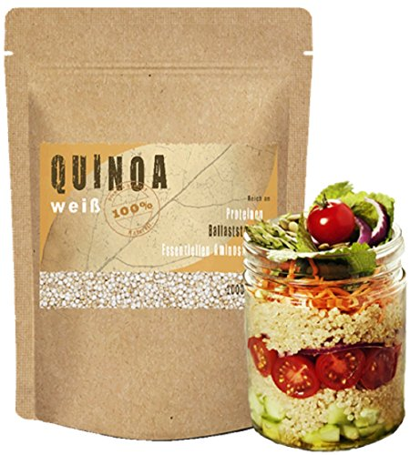 Quinoa 1kg (1000g) - Quinoa Samen **NEUE PREMIUM-Qualität** 1 kg (1000 g) Vegan Glutenfrei 100% natürlich und pflanzlich gesunde Nahrungsergänzung Proteine glutenfreie vegane Lebensmittel Kinoa Qinoa Quinoa Vollkorn High Carb low fat vegan Quinoa bestellen Quinoa Eiweiß Eiweißquelle Quinoa weiß Quinoa Frühstück Quinoa Inhaltsstoffe Quinoa Körner Quinoa Müsli Quinoa Porridge Quinoa Reis Quinoa Zubereitung vegane Lebensmittel im Supermarkt vegane Lebensmittel Liste gesunde Ernährung Lebensmittel
