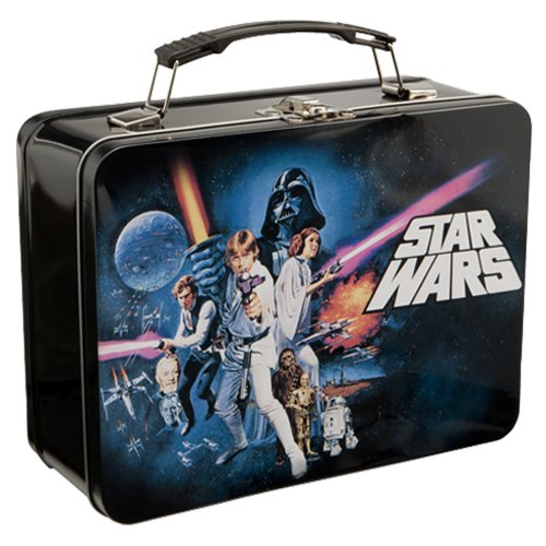 Vandor 99270 Star Wars Episode 4 Large Tin Tote, Black