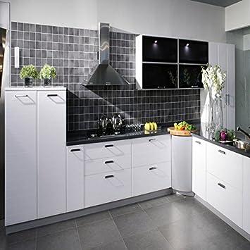 Amazon.com : 500x30cm Kitchen Waterproof Stickers Cabinets ...