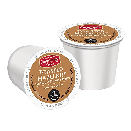 community coffee hazelnut k cups - 1