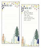 Set of 2- Forest List Pad, Notepad, Shopping List with Attachable Magnet