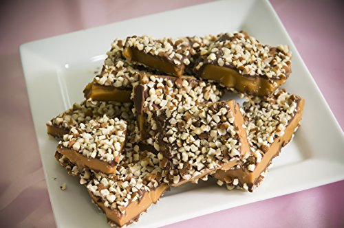 Aunt Mae's Sweet Tooth English Toffee 8 oz Milk Chocolate with Almonds