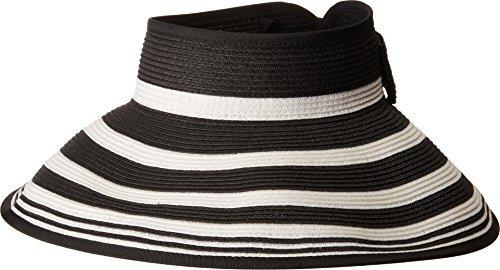 San Diego Hat Visor Black One