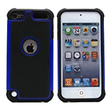 BZ Gadget Shock Proof Case Cover for Apple iPod Touch 5G 5th Generation (Blue) + BZ Gadget Cleaning Cloth