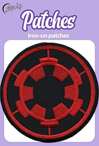 Star Wars Club Embroidered Badge Iron On//Sew On Clothe Jacket Jeans N-510