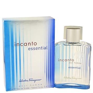 Incanto Essential by Salvatore Ferragamo Eau De Toilette Spray 3.4 oz
