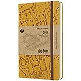 Agenda Moleskine 2019 Edição Limitada Harry Potter, Diário, 12 meses, Tamanho Grande (13 cm x 21 cm), Bege, Capa Dura