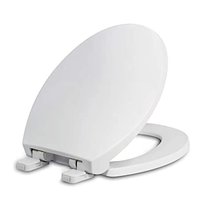 Awe Inspiring Round Toilet Seats With Lid Slow Close Seat And Cover Including Two Sets Of Parts Fit All Standard Round Toilet Quiet Close Plastic White Gmtry Best Dining Table And Chair Ideas Images Gmtryco