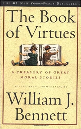 amazon the book of virtues william j bennett movements periods