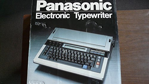 panasonic electronic typewriter - 6
