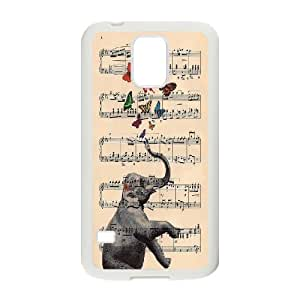 Unique Design -ZE-MIN PHONE CASE- For Samsung Galaxy NOTE4 Case Cover -Animal Elephant Pattern-CUSTOM-DESIGH 10