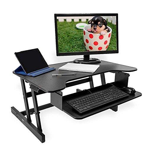 BACK - Escritorio de pie - Para ordenadores de mesa y portátiles ...