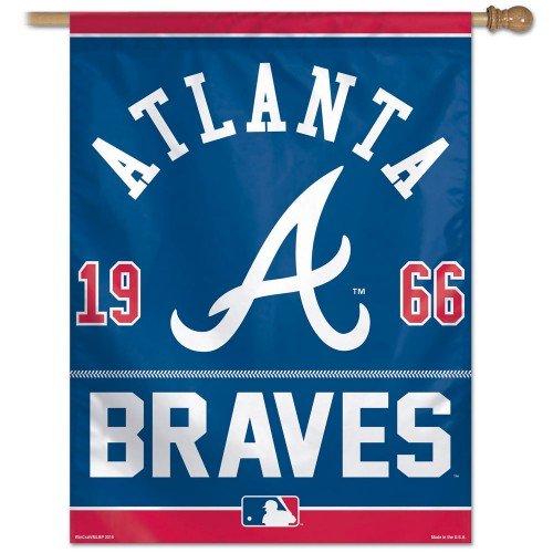 Wincraft Atlanta Braves 2015 27 x 37-inch Vertical Flag - Established 1966