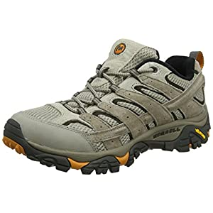 510TYAOb3uL. SS300  - Merrell Men's Moab 2 Vent Hiking Shoe (14 D(M) US, Brindle)