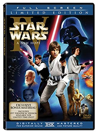 Amazon Com Star Wars Episode Iv A New Hope Two Disc Limited Edition Mark Hamill Harrison Ford Carrie Fisher Alec Guinness Peter Cushing Anthony Daniels Kenny Baker Peter Mayhew David Prowse Phil Brown