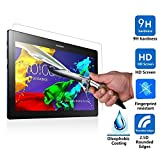 Lenovo TAB 2 A10-30F Screen Protector, IVSO Lenovo TAB 2 A10-30 Ultra-thin 9H Hardness Highest Quality HD clear& Premium Tempered Glass Screen Protector for Lenovo TAB 2 A10-30F Tablet (1pcs)
