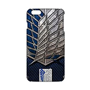 CCCM Attack on Titan 3D Phone Case for iphone 5 5s