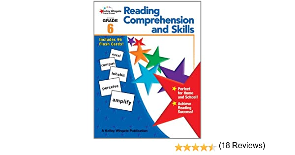 Amazon.com: Reading Comprehension and Skills, Grade 6 ...