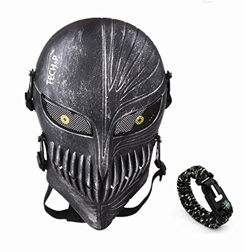 Tech p Death Skull Face Mask product image