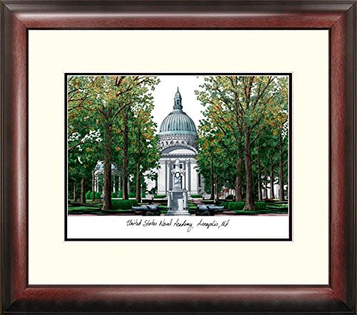 Naval Academy Navy Framed Lithograph Print by Landmark Publishing