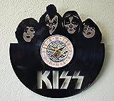 #5: KISS Laser Cut LP Record Wall Clock FREE SHIPPING