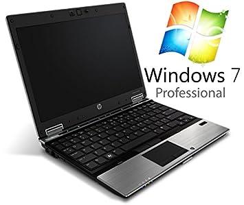 Office High End usado Ordenador Portátil HP EliteBook 2540p 12,1 pulgadas, procesador Intel